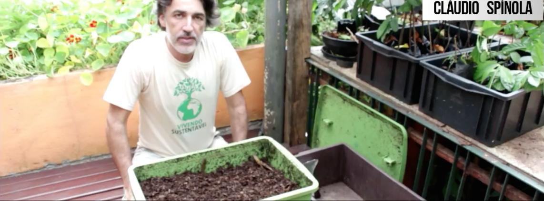 Como retirar o húmus da Composteira Humi