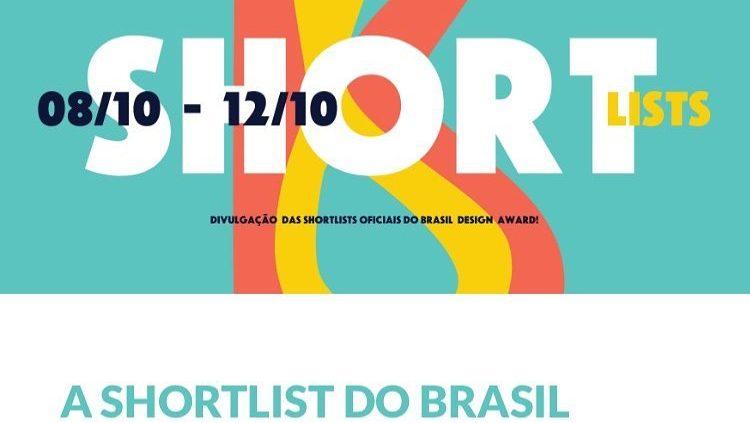 Shortlist Brasil Design Award 2018