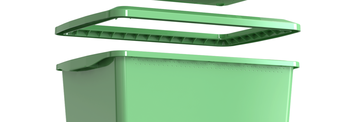 Composteira Humi expandida (Morada da Floresta)