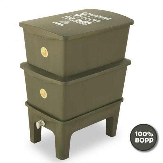 Composteira Humi Mãe Terra - 100% BOPP reciclado